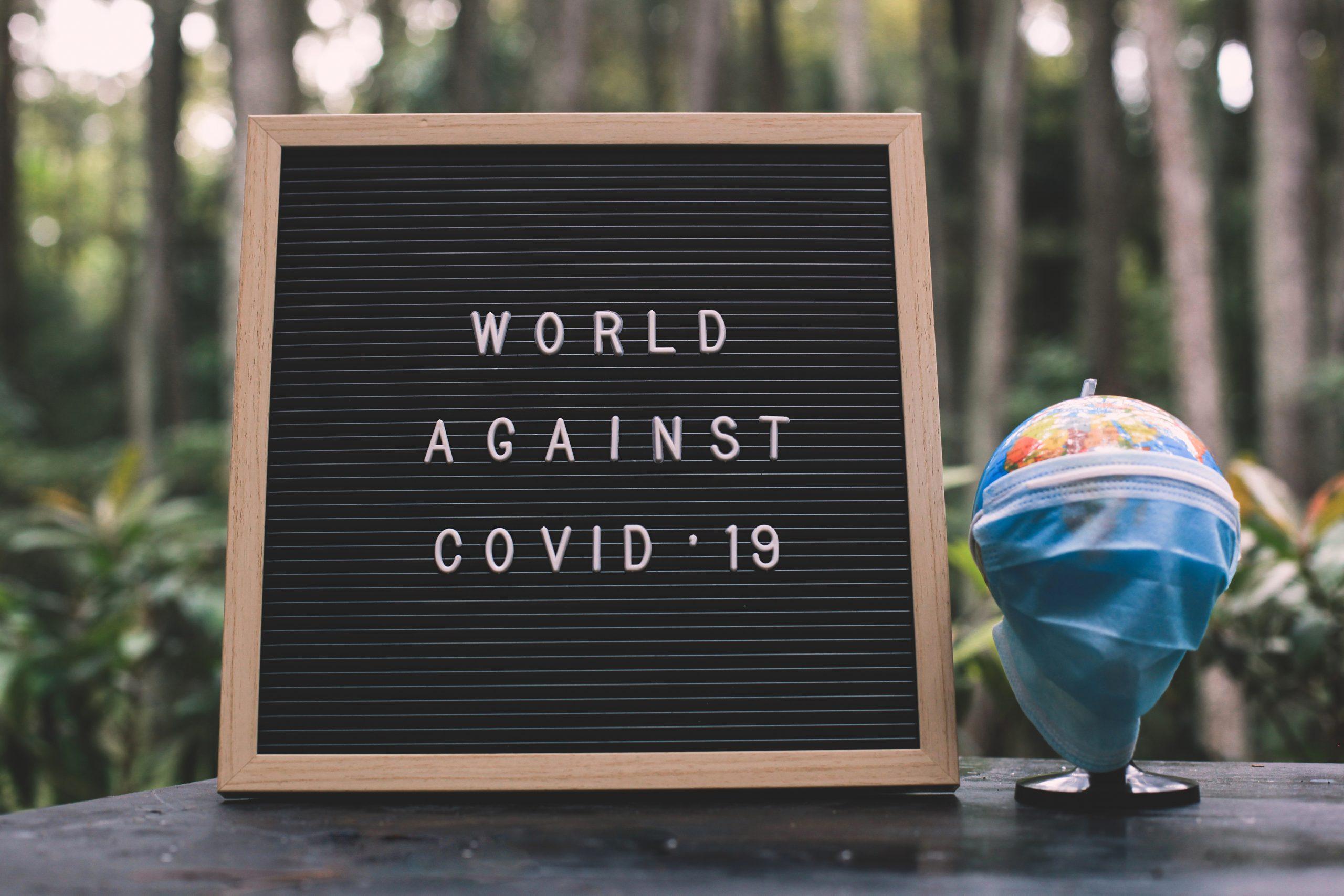 il mondo contro il covid